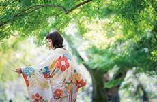 <京都の和装前撮り>といえばハルウエディング