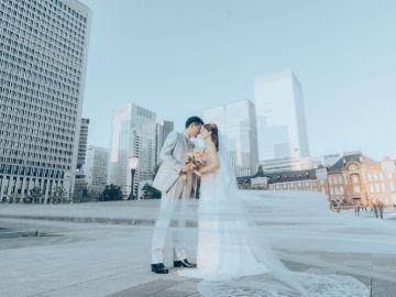 ロケーション撮影はMK Wedding Photographyへ!東京駅はもちろん季節感あふれるスポットやチャペルでの撮影も可能。和装も洋装も撮影可能