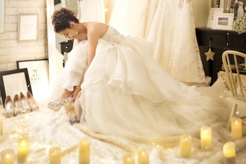 結婚式の花嫁の画像