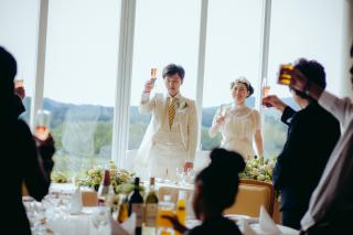 『IKEDA指名』結婚式当日スナップ撮影 エンゲージ付き