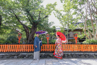 346353_京都_店舗の目の前、祇園白川ロケーション