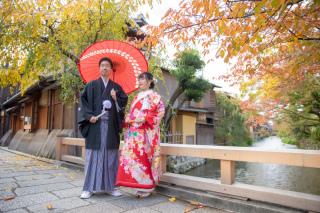 351869_京都_店舗の目の前、祇園白川ロケーション