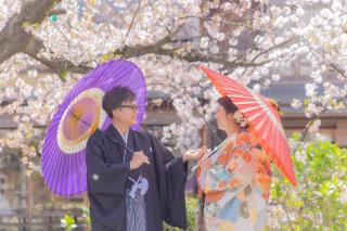 346356_京都_店舗の目の前、祇園白川ロケーション