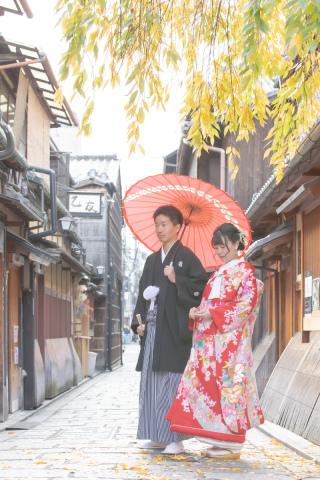 351870_京都_店舗の目の前、祇園白川ロケーション