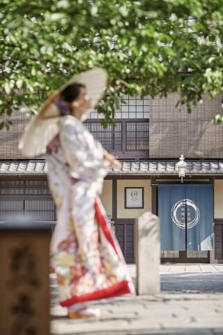 351360_京都_店舗の目の前、祇園白川ロケーション
