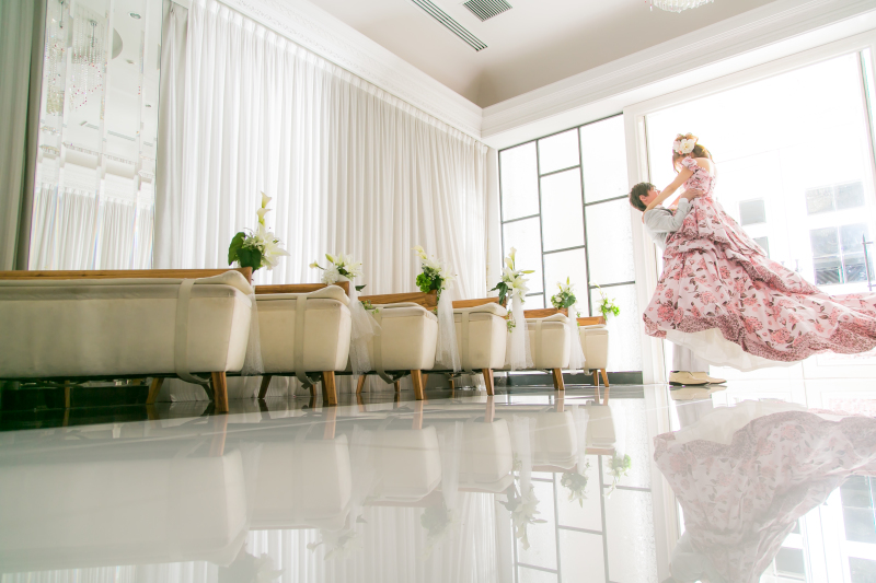 小さな結婚式 大阪ハービスENTチャペル
