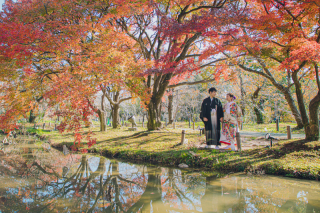 275018_京都_ロケ撮影:秋京都府立植物園(紅葉)
