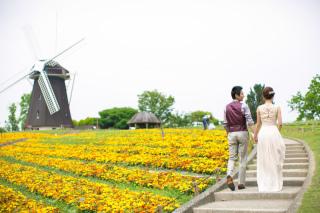 224682_大阪_季節の花・ガーデン(ドレス)