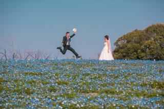 280985_大阪_洋装ロケーション(季節の花・ガーデン)