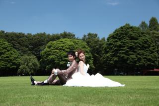 1607_埼玉_ロケーションフォト 公園洋装