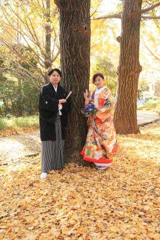 26744_埼玉_ロケーションフォト 紅葉フォト(大宮公園)
