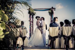 18587_ハワイ/グアム/サイパン_結婚式当日(2) ハワイ