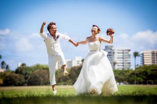 18582_ハワイ/グアム/サイパン_結婚式当日(2) ハワイ