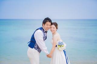 252317_沖縄_青い空・青い海のビーチフォト1