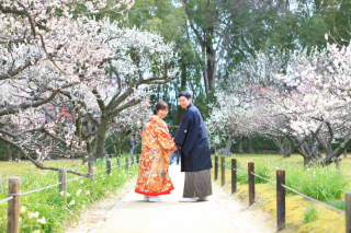 135146_岡山_梅・桜和装ロケーション