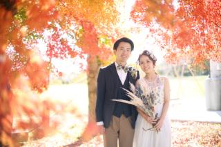 ご予約はお早めに!◆秋風薫る紅葉フォトウェディング◆