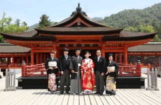 厳島神社挙式プラン