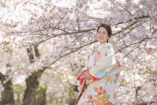 295474_福岡_はる、桜♪ロケーション撮影