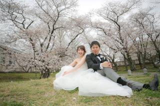 295498_福岡_はる、桜♪ロケーション撮影