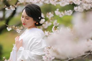 295482_福岡_はる、桜♪ロケーション撮影