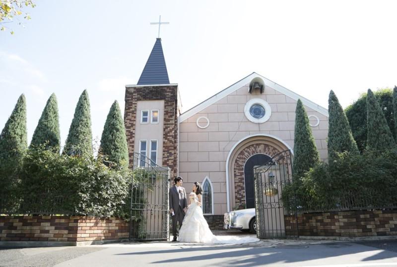 フォトスタジオ フィオーレ(武蔵野アンナ教会)