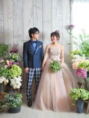 120838_福岡_スタジオ≪ナチュラル≫:ドレス撮影