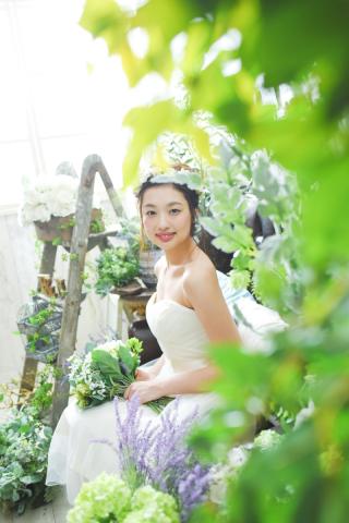 42155_福岡_スタジオ≪ナチュラル≫:ドレス撮影