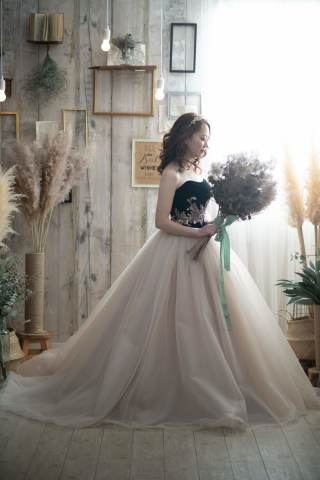 266248_福岡_スタジオ≪アンティーク&シンプル≫:ドレス撮影