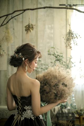 290195_福岡_スタジオ≪ナチュラル≫:ドレス撮影