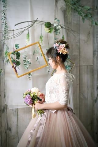 120866_福岡_スタジオ≪ナチュラル≫:ドレス撮影