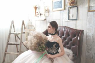 ◆和装&ドレスの3点◆全300カット以上のデータ付! <和装1点&洋装2点>スタジオ撮影+ロケ撮影1ヶ所付き