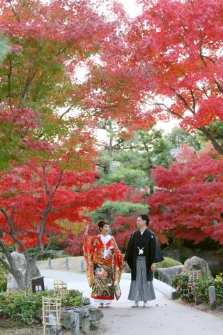 16057_愛知_和装ロケーション撮影 @日本庭園・スタジオ