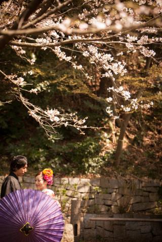 16796_東京_和装ロケーション撮影 @日本庭園