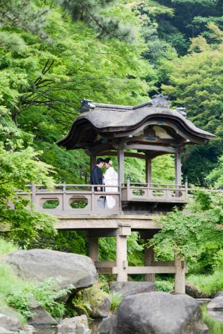 20422_東京_和装ロケーション撮影 @日本庭園