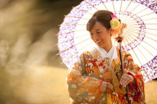 16785_東京_和装ロケーション撮影 @日本庭園