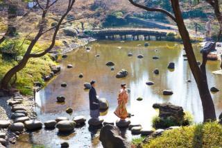 202151_東京_和装ロケーション撮影 @日本庭園