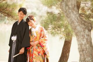 16791_東京_和装ロケーション撮影 @日本庭園