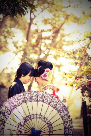 16788_東京_和装ロケーション撮影 @日本庭園