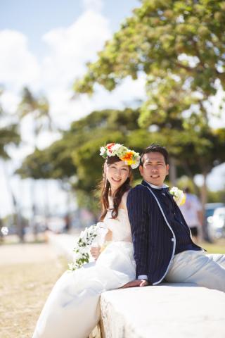 202248_ハワイ/グアム/サイパン_洋装ロケーション撮影 @赤レンガ・ビーチ・球場・学校など