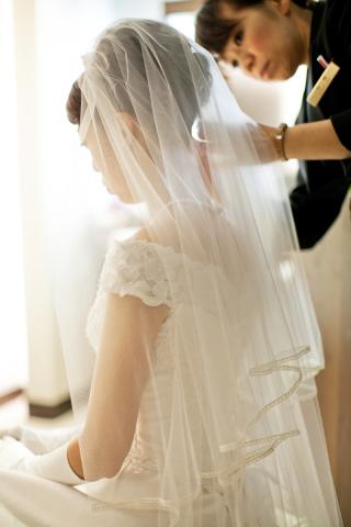 279791_神奈川_結婚式当日 メイクシーン・館内撮影