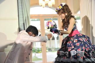 【結婚式当日】デラックスセットA(当日スナップ撮影+デザインアルバム+フルハイビジョンビデオ撮影・編集)¥140,800