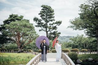 355105_石川_和装にぴったり!自然の彩りと楽しむ日本庭園ロケ