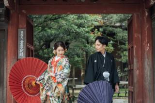 355114_石川_和装にぴったり!自然の彩りと楽しむ日本庭園ロケ