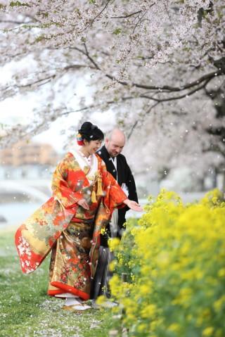 143101_石川_金沢桜 紅葉ロケーションフォト