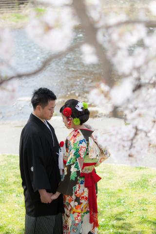 58175_石川_金沢桜 紅葉ロケーションフォト