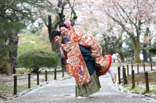 142495_石川_金沢桜 紅葉ロケーションフォト