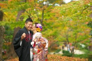 206985_石川_金沢桜 紅葉ロケーションフォト