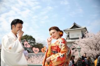 143099_石川_金沢桜 紅葉ロケーションフォト