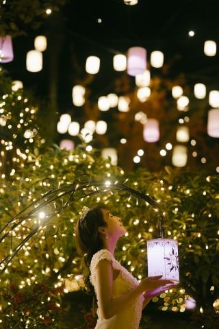 311023_大阪_遊園地イルミネーションフォト