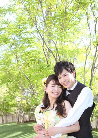 225925_愛知_色打・ウェディング・カラードレス チャペル・ガーデン撮影